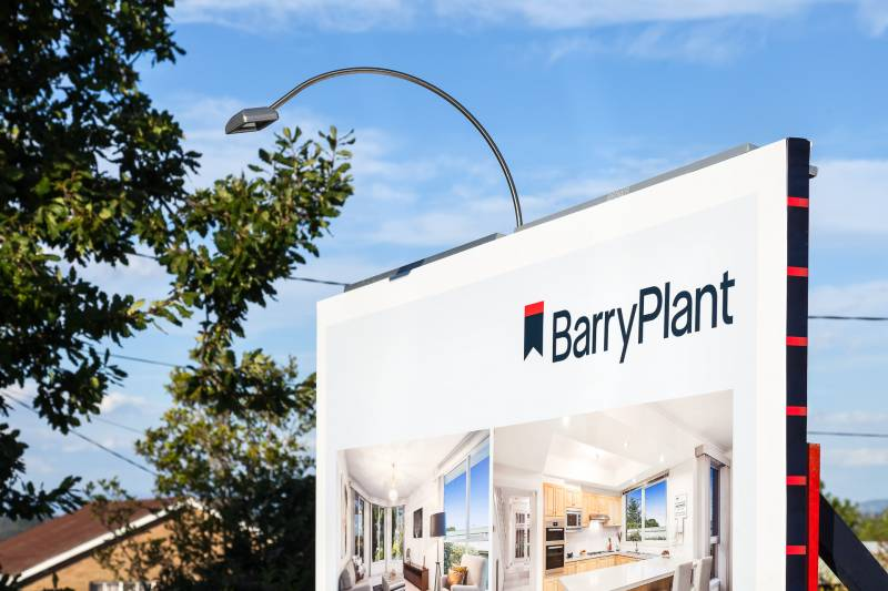 Barry Plant fresh real estate boards
