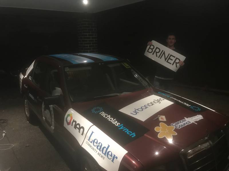 Briner proud to support rally for charity