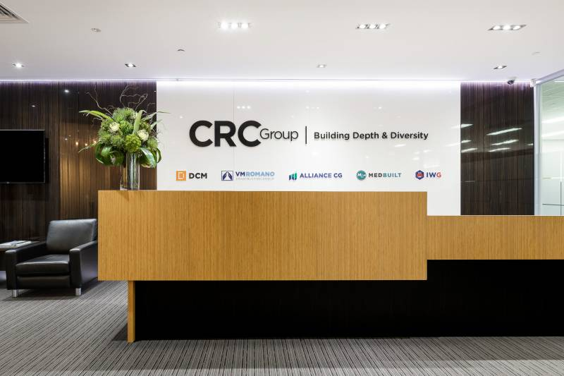 CRC Group Reception Area