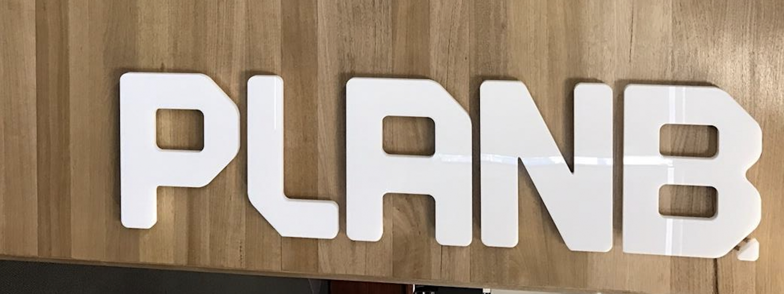 FRESH LOOK & SIGNAGE FOR PLAN B