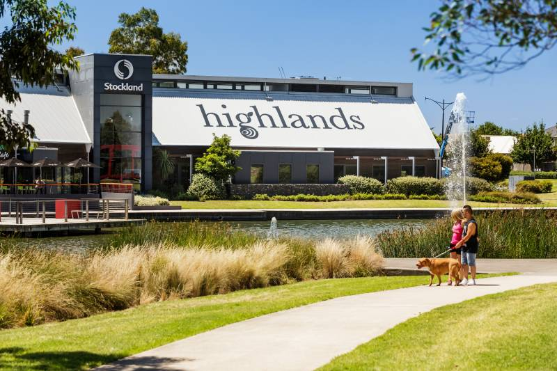 Highlands sales and information centre