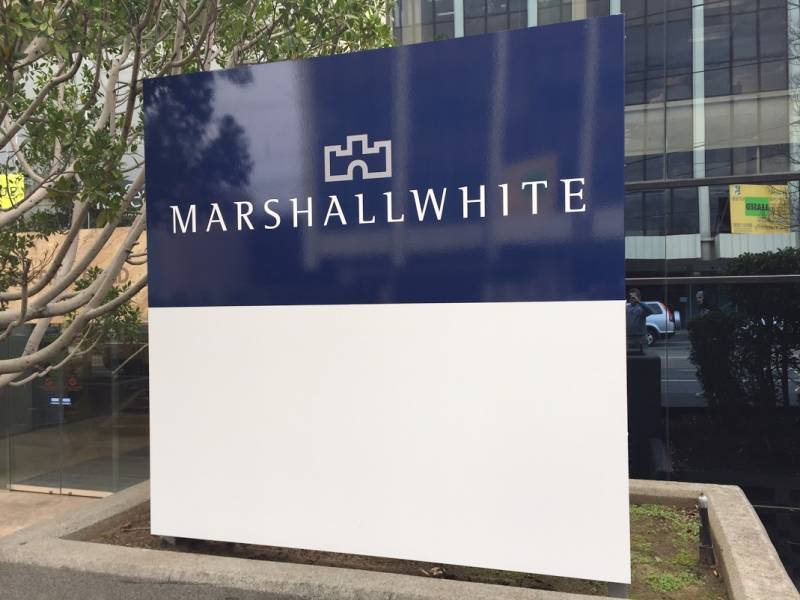 Marshall White's New Offices