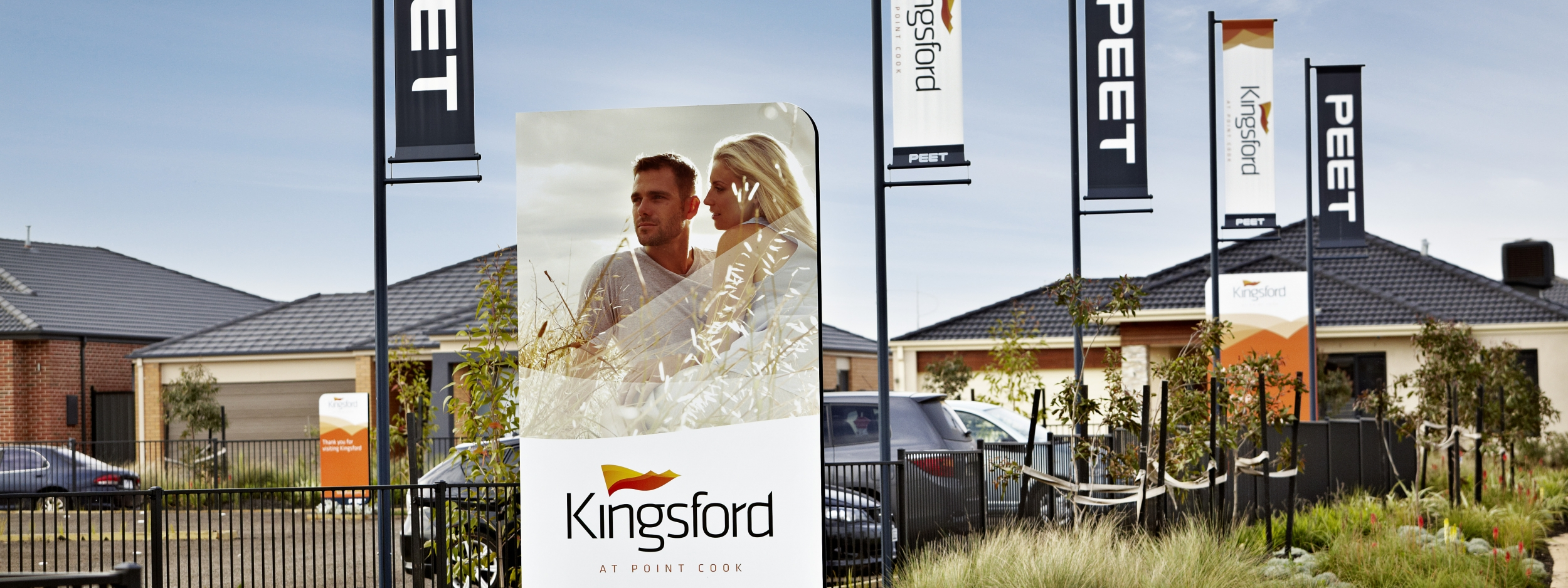 Kingsford Development Signage