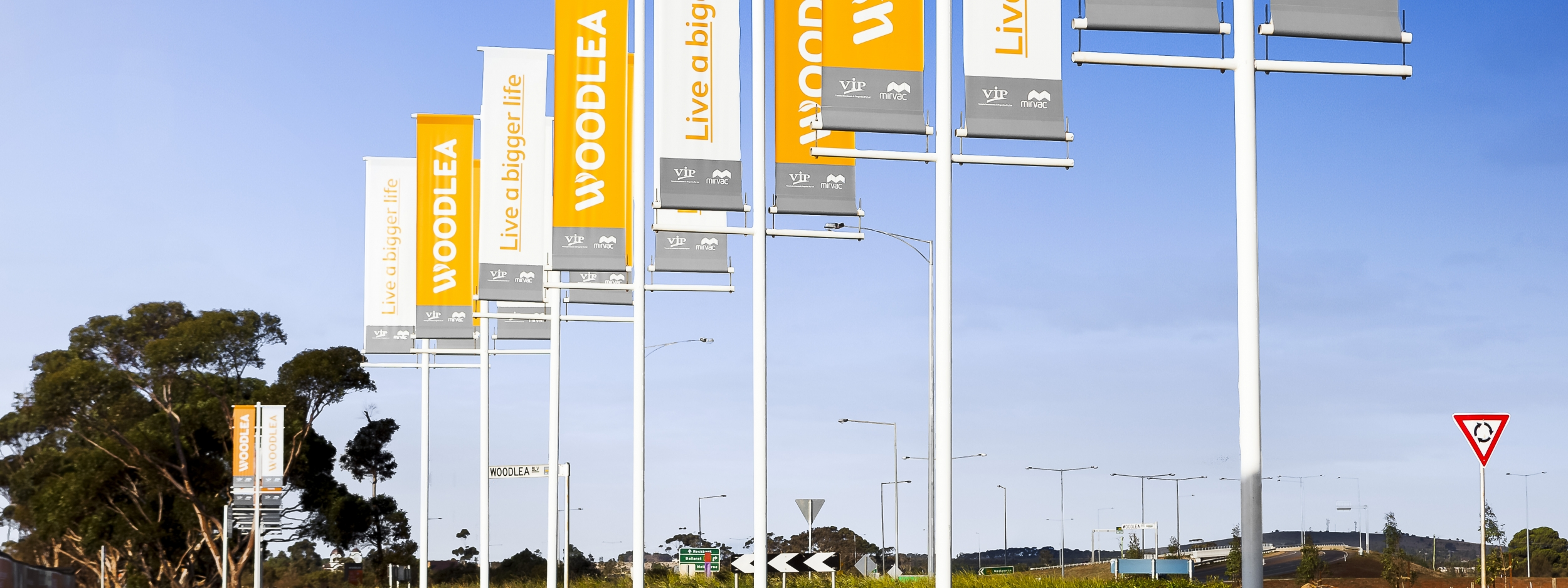 Woodlea Development Signage