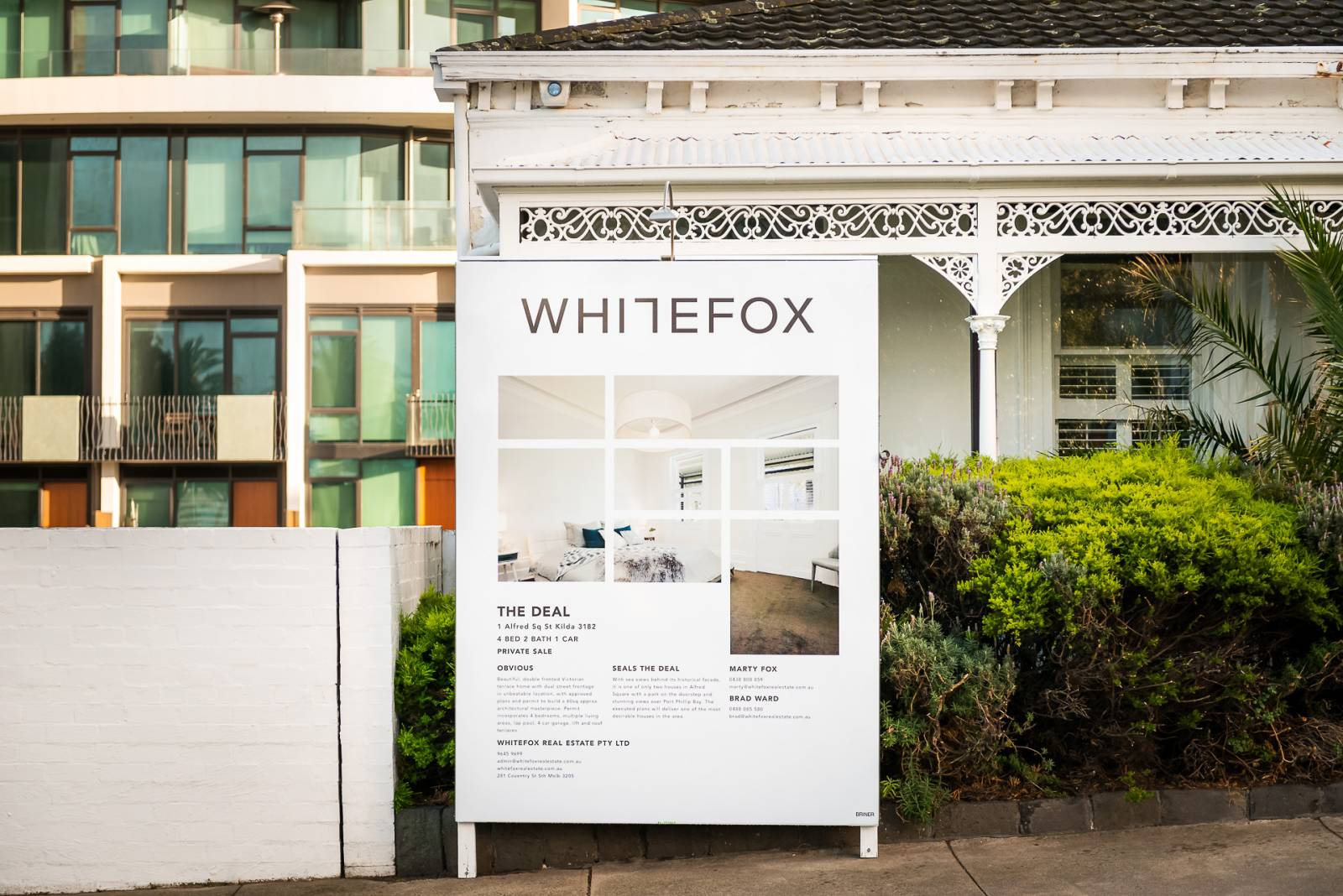 Whitefox Wrap Around Board