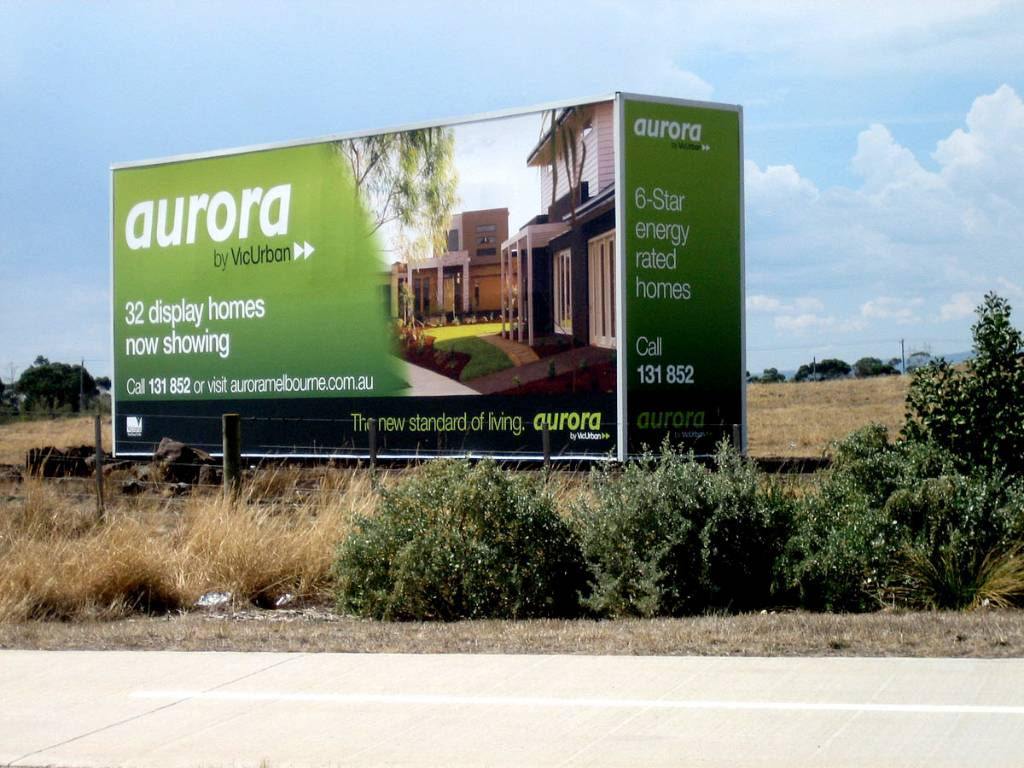 Aurora Container Sign Stacker