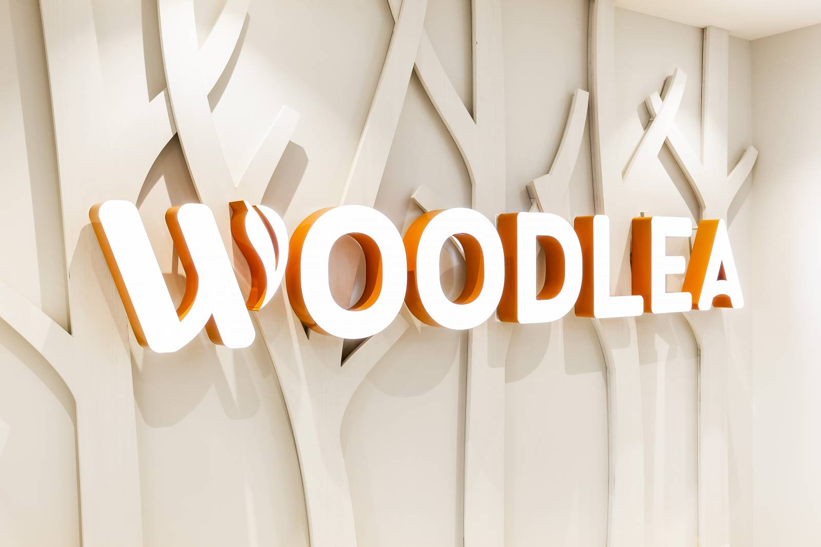 Woodlea Fabricated Lettering