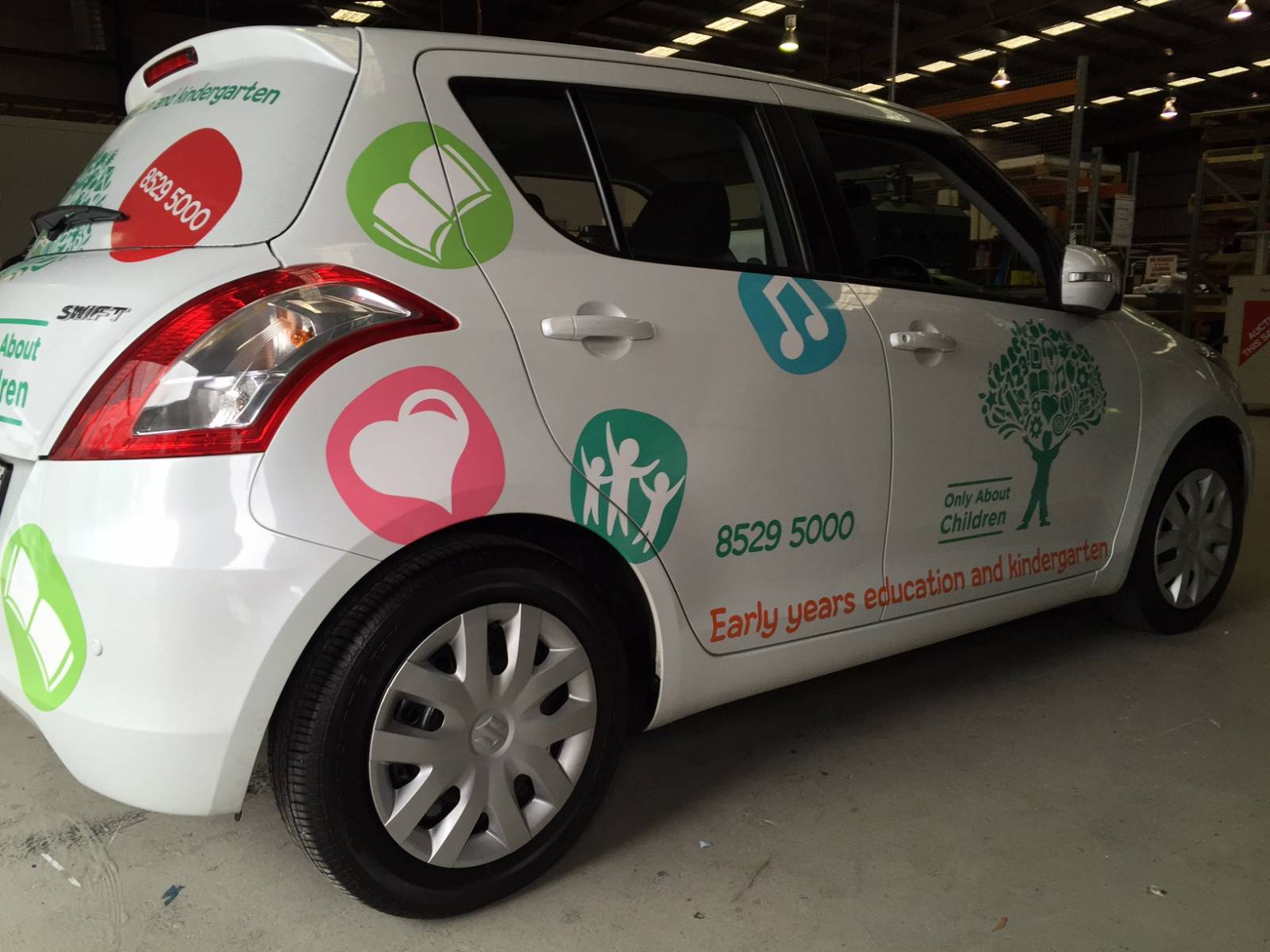 Only About Children Vehicle Graphics